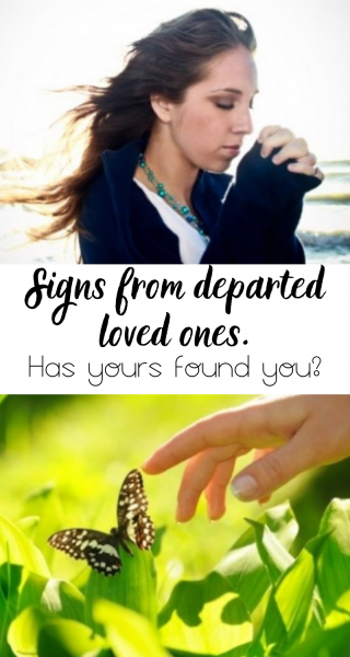 signs from departed loved ones
