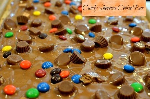 candy showers,cookiebar