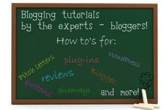Blogging tutorials by the experts – bloggers!