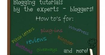 Blogger-tutorials