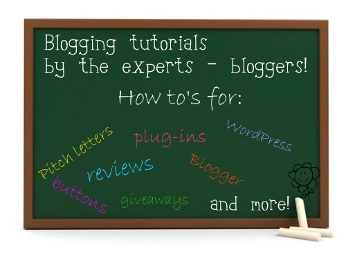 Blogger-tutorials