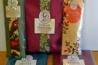Win 3 Large Greenleaf Sachets (winners choice of scents!)