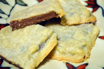 Cookie Wrapped Chocolate Bar Recipe