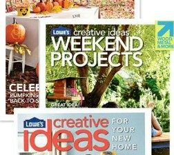 $50 Lowe's Gift Card Giveaway – and Lowe's Creative Ideas