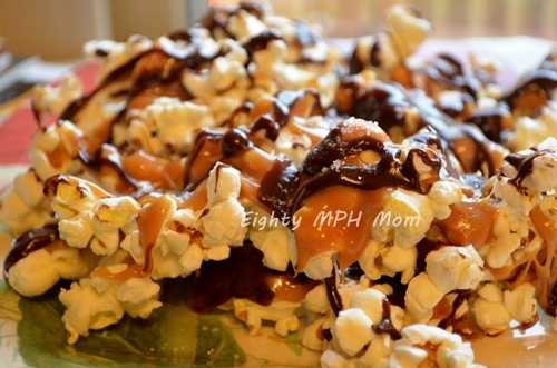 caramel-chocolate-popcorn