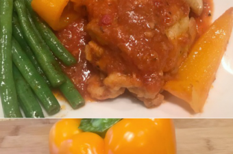 Easy Chicken Cacciatore – this will make your mouth water!