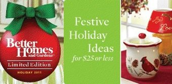 Better Homes and Gardens Holiday Decor at Walmart – $25 or less!