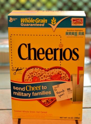 Cheerios send cheer Cbias