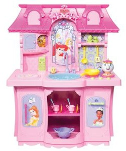 Attractive Is She A Little Princess? Well, Here Is The Kitchen For Her! The Disney  Princess Magical Kitchen ...