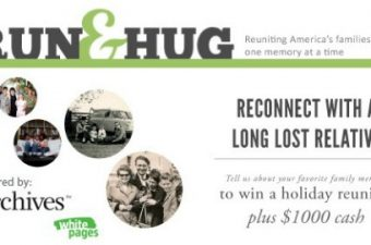 Run and Hug Contest info from White Pages