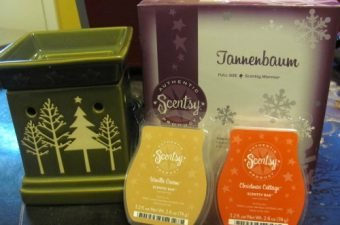 Scentsy for the Holidays – Wickless Candles Review