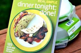 Real Simple Dinner Tonight cookbook