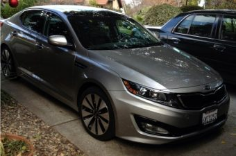 Kia Optima SX Turbo review