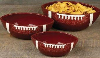 Giveaway: Set of 3 Touchdown Football Serving Bowls & Frito Lay Scoops!
