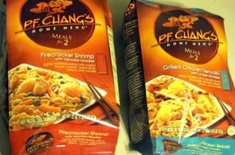 P.F.Chang's Home Menu dishes Review