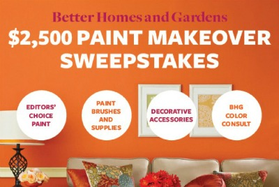 better homes and gardens sweepstakes better homes and gardens paint sweepstakes 386
