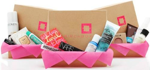 Birchbox beauty samples