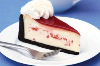 Eli's Cheesecake White Chocolate Raspberry Cheesecake giveaway