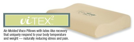Vitex memory foam pillow