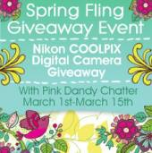 Spring Fling Giveaway – Win a Nikon COOLPIX Digital Camera ($279 ARV)