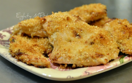 Asian Panko chicken