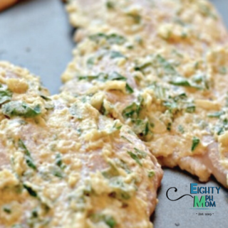 Chicken Breasts with spinach and mayonnaise