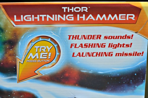 Avengers light up hammer