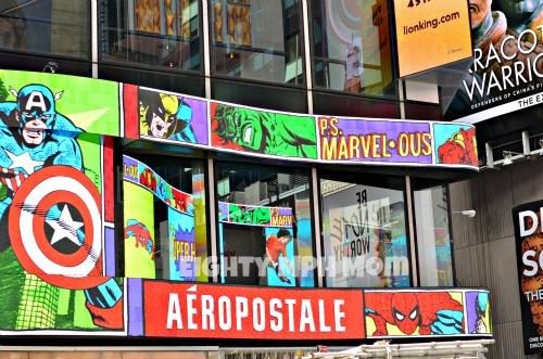 Avengers billboard