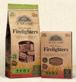 green firelighters