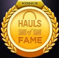 Kohl's haul of fame