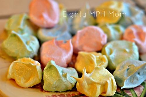 Spring Easter Meringues Recipe — Dishmaps