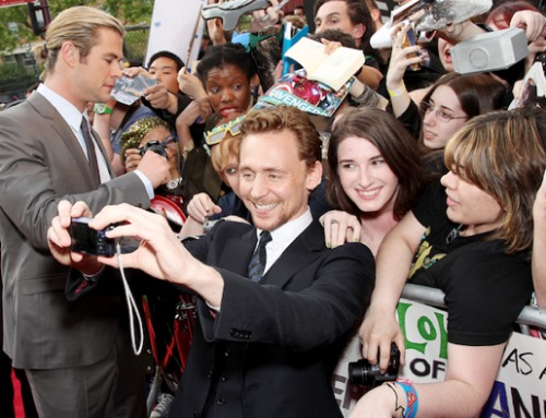 Tom Hiddleston on Red Carpet