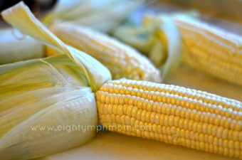 Campfire Garlic Butter Grilled Corn
