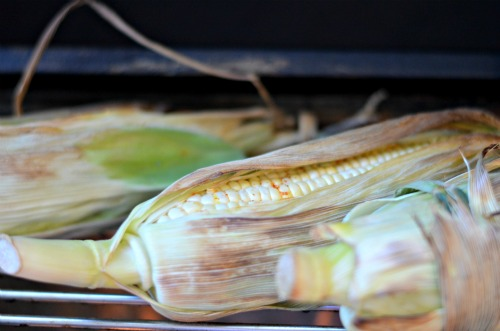 corn on grill