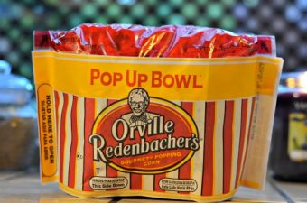 pop up popcorn bowl