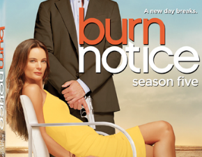 Burn Notice Season 5 and White Collar Season 3 now available!