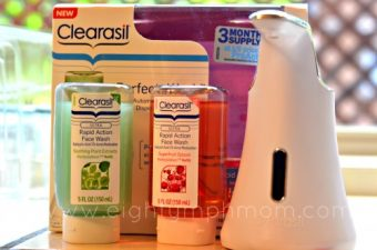 clearasil perfecta wash