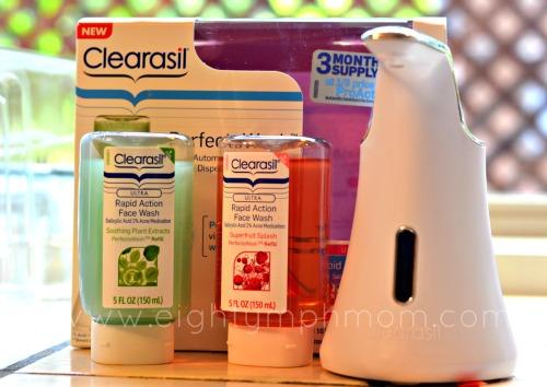 clearasil perfecta wash