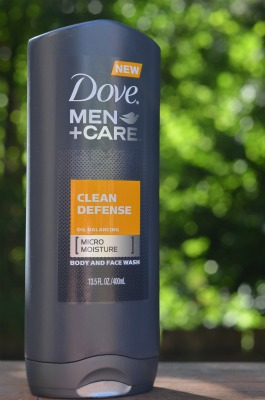 dove men's body wash