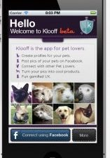 klooff pet app