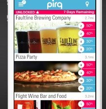 Discover deals on the go with the Pirq app!