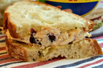 Pine Nut & Cranberry Picnic Chicken Salad Sandwiches