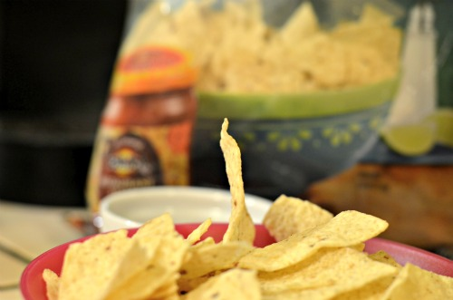 thin tortilla chip