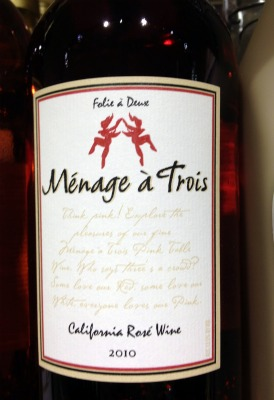 Manage a Trois wine