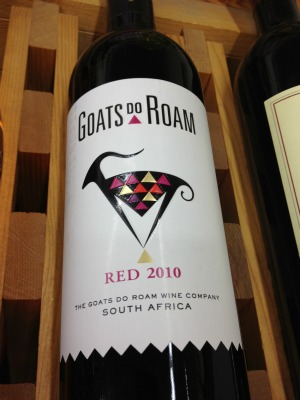 Goats do Roam wine