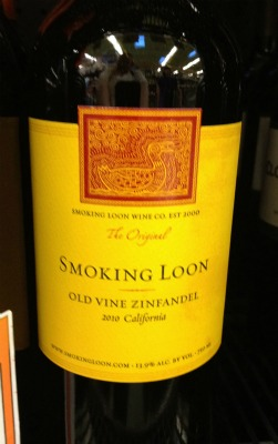 smoking loon wine