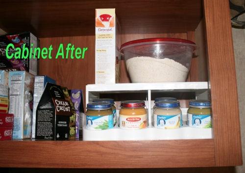 baby jar food organizer