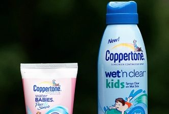 Coppertone Beach Bag, Mat and Sunscreens Giveaway