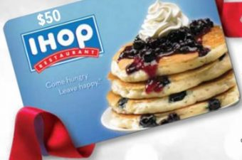 $50 IHOP Gift Card Giveaway – enjoy their new pancake varieties!