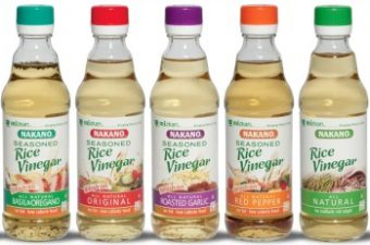 Nakano Seasoned Rice Vinegar – so versatile!